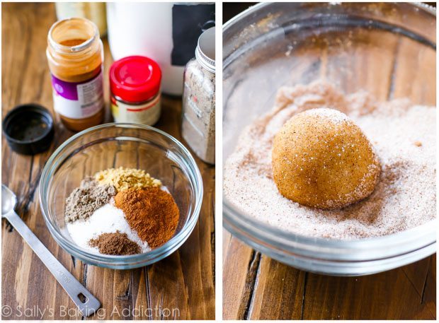 These frosted chai spice snickerdoodles are a chai tea latte in cookie form! And so simple to make!