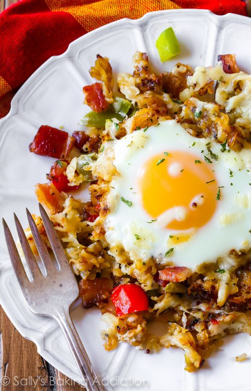 Alton Brown's 'Man Breakfast' With Bacon, Eggs, And Hash ...