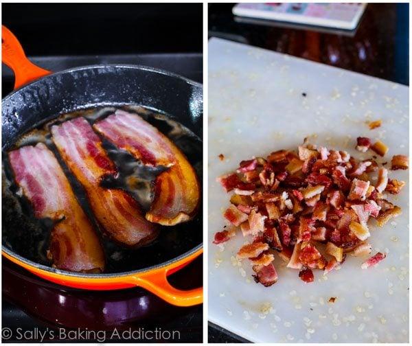 Crispy Hash Breakfast Skillet Recipe on sallysbakingaddiction.com