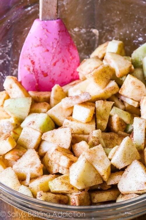 Gluten Free Apple Crisp Recipe by sallysbakingaddiction.com