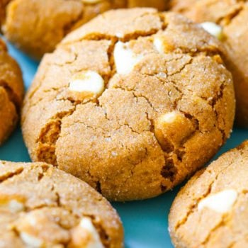 Soft-Baked White Chocolate Chip Molasses Cookies-4