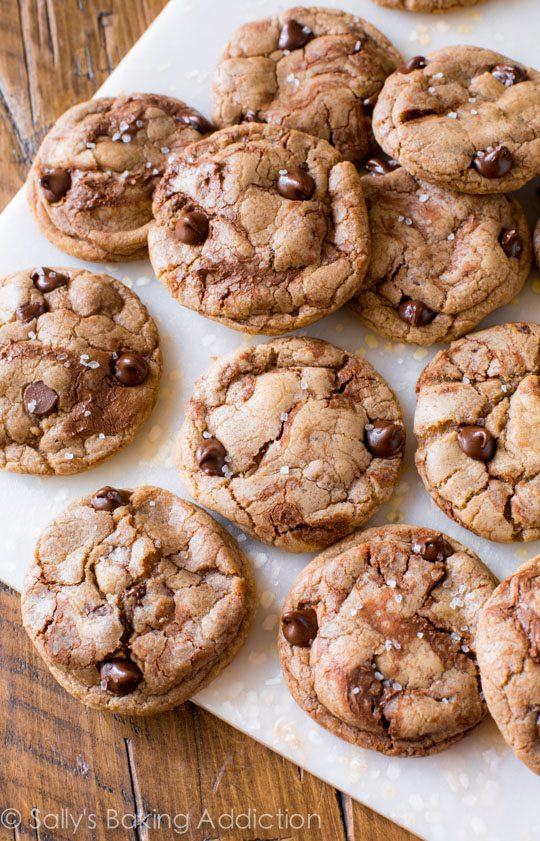 Chocolate Nutella Cookies Recipe — Dishmaps