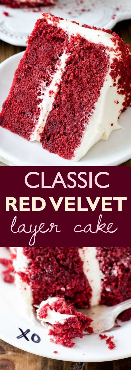 love this Red Velvet Layer Cake recipe! Learn exactly how to make it ...