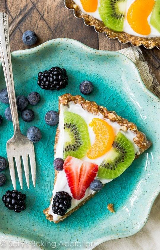 Healthy Greek Yogurt Fruit Tart-2