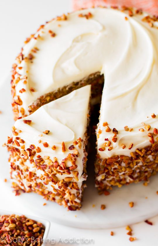 Sally S Baking Addiction Recipe For Carrot Cake