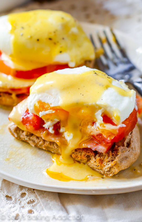 ... eggs benedict. Learn how to poach eggs and create this restaurant