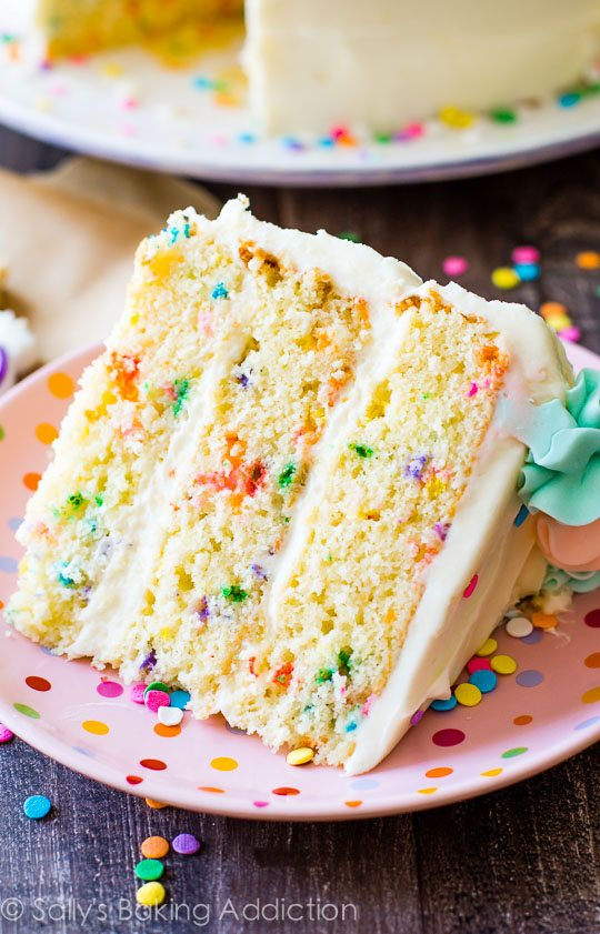 How To Make Layer Cake Frosting