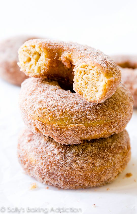 There is nothing like waking up to fresh-baked cinnamon sugar donuts ...