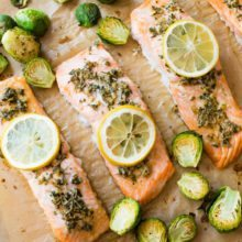 Simple Lemon Herb Salmon-4