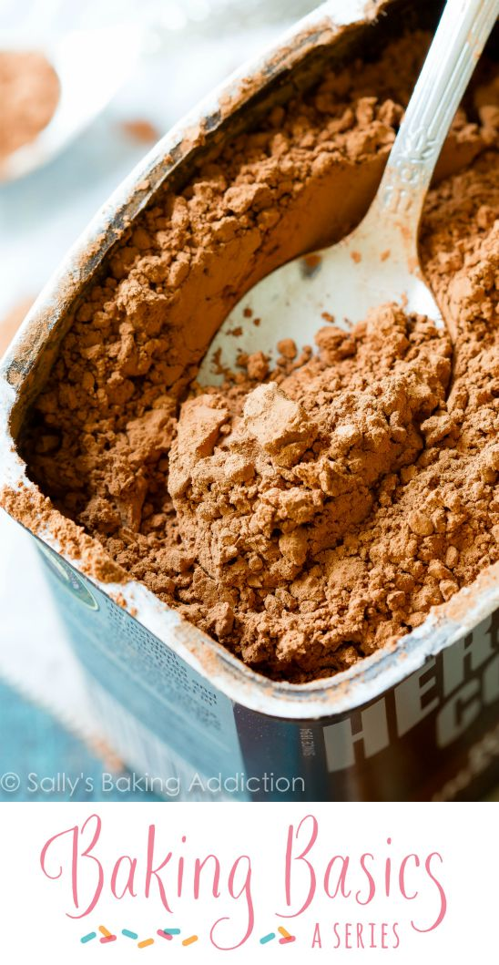 What is the difference between natural cocoa powder and dutch-process? Everything explained here!