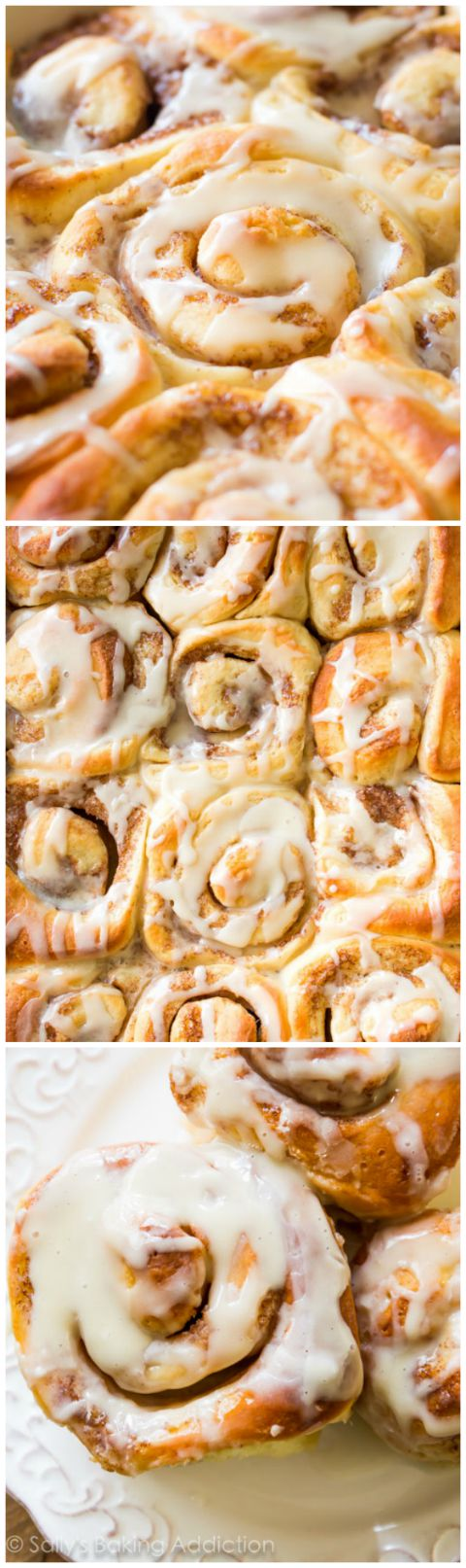 Here's how to make a huge pan of melt-in-your-mouth maple cinnamon rolls. We all love this simple make-ahead recipe!
