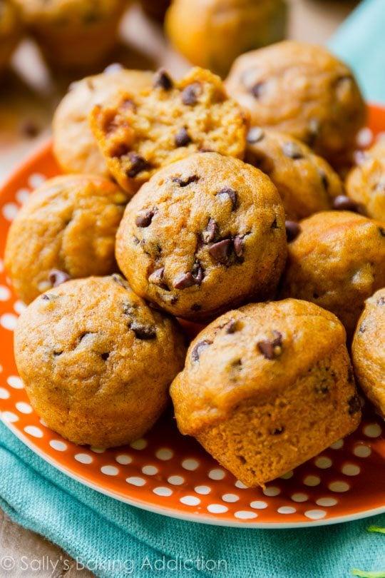 Ingredient Pumpkin Chocolate Chip Muffins