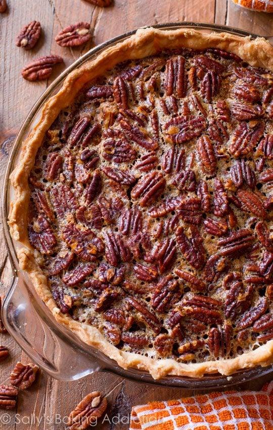 My favorite pecan pie recipe!