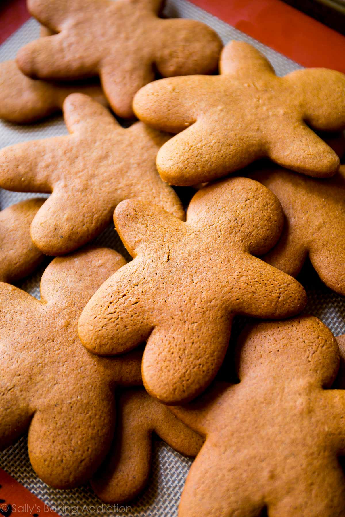 This is the best recipe for gingerbread men! Easy to mix together, taste unbelievable, and fun to decorate! Gingerbread cookie recipe on sallysbakingaddiction.com