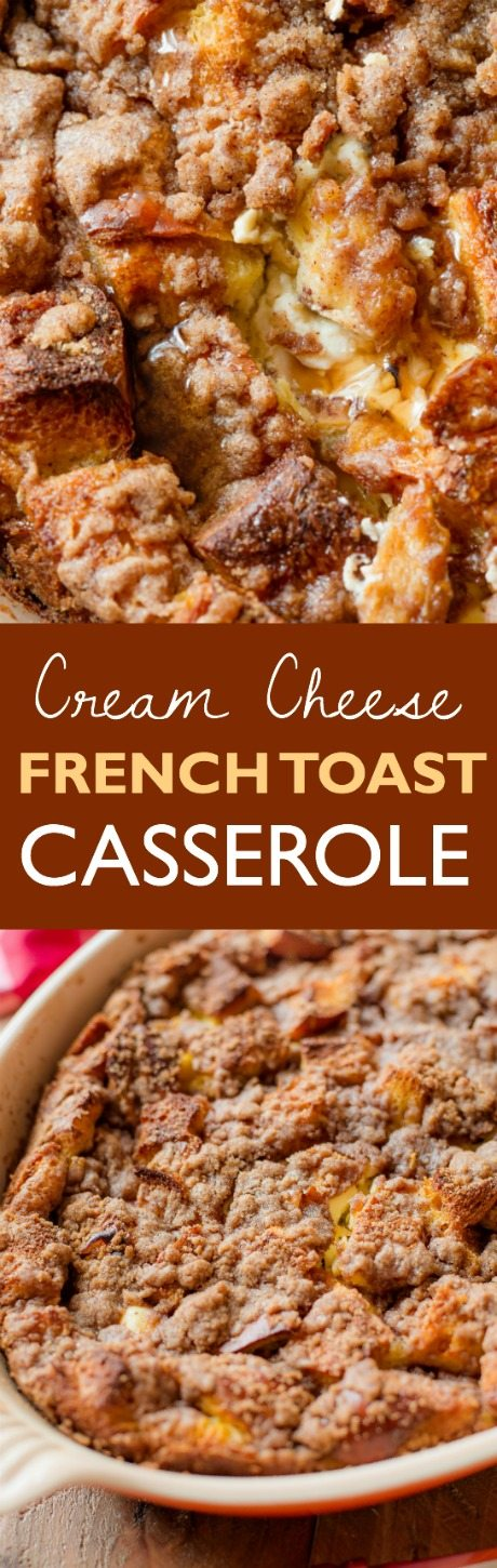 Baked Cream Cheese French Toast Casserole - Sallys Baking ...