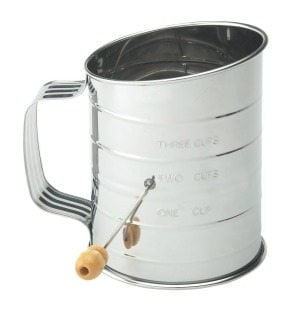 Mrs. Anderson's Hand Crank Sifter