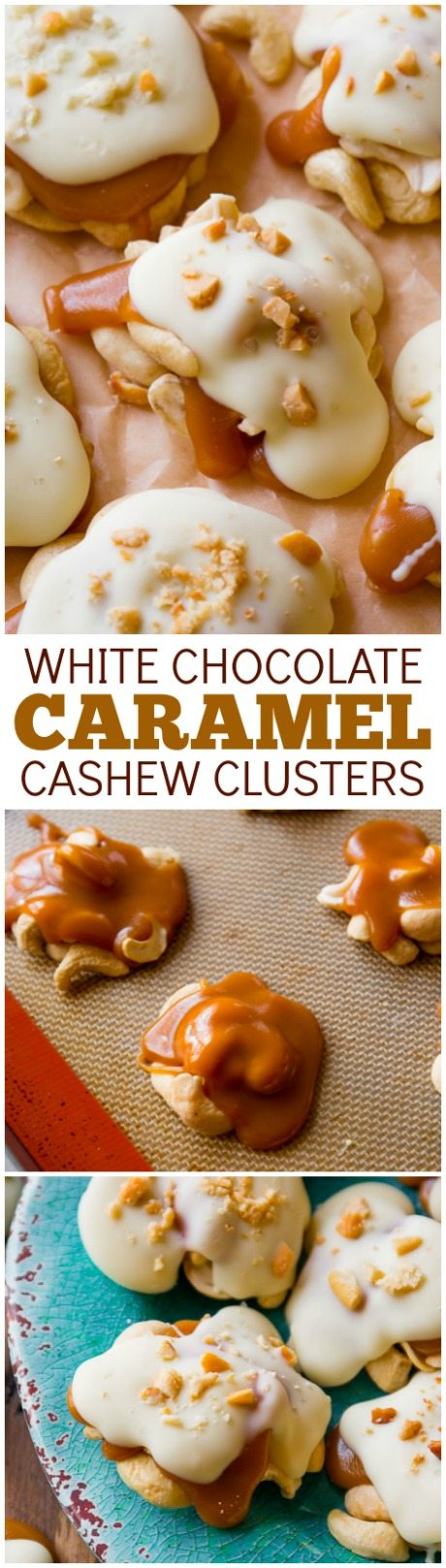 ingredient caramel cashew clusters! These candies are so easy and ...