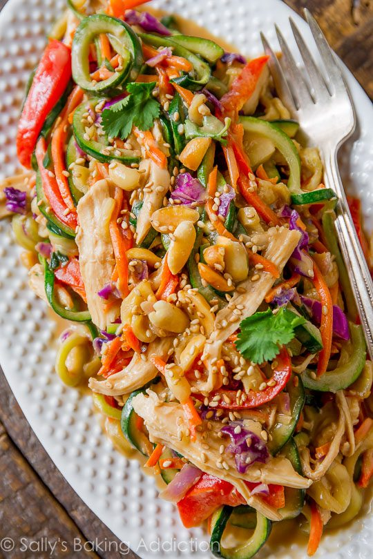 Mixing Up Weeknight Dinners With This Wildly Flavorful And Healthy Asian Inspired Peanut Chicken Veggies
