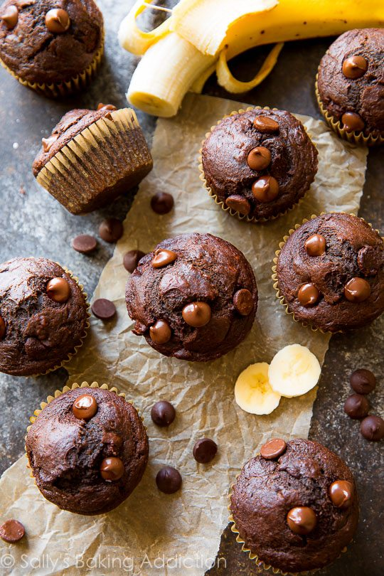 DELICIOUS 175 calorie whole wheat muffins as fudgy as brownies and moist as chocolate cake!
