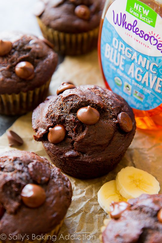 Miraculous 175 calorie whole wheat muffins as fudgy as brownies and moist as chocolate cake!