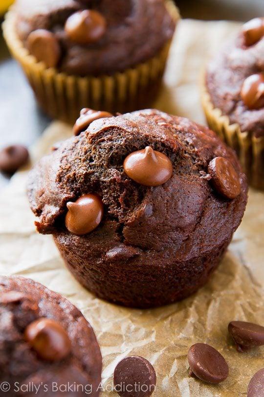 Whole Wheat Double Chocolate Brownie Bites Recipe — Dishmaps