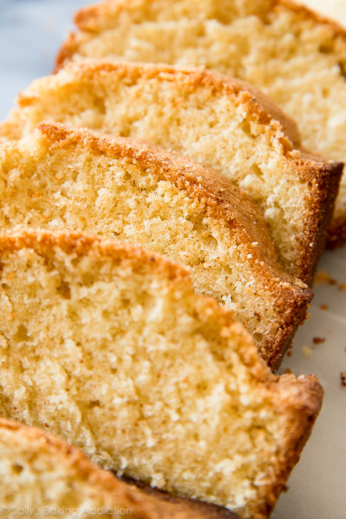 Brown Sugar Butter Pound Cake