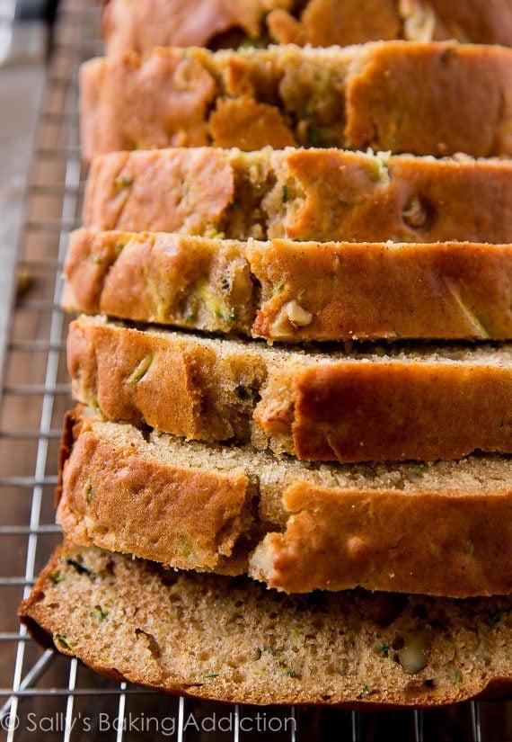 Sallys Baking Addiction Chocolate Zucchini Bread