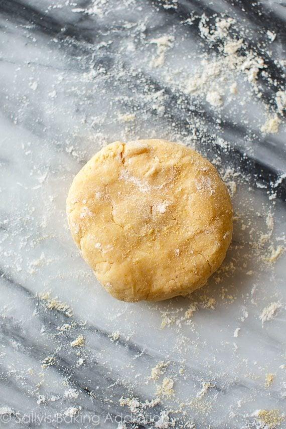 Buttermilk cornmeal crust