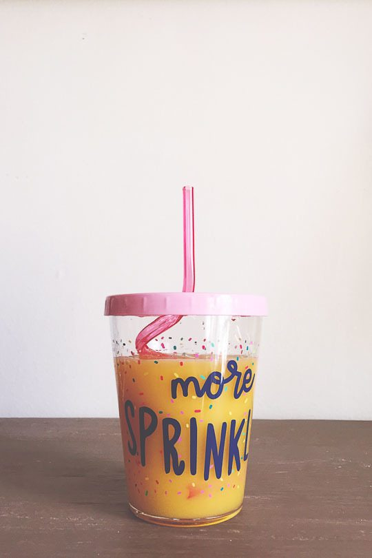 more sprinkles cup from target
