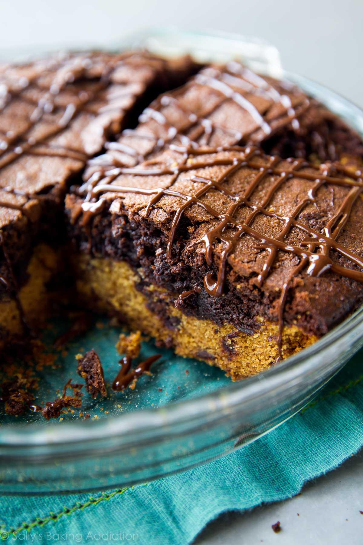 Brookie Pie - Sallys Baking Addiction