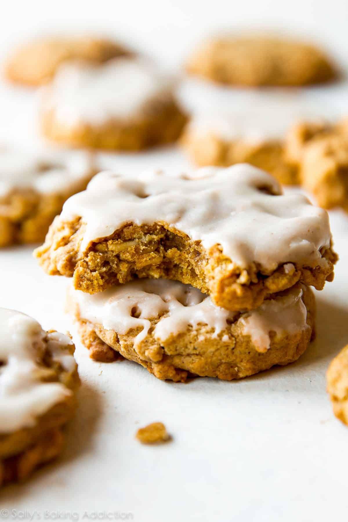 Brown Butter Pumpkin Oatmeal Cookies - Sallys Baking Addiction