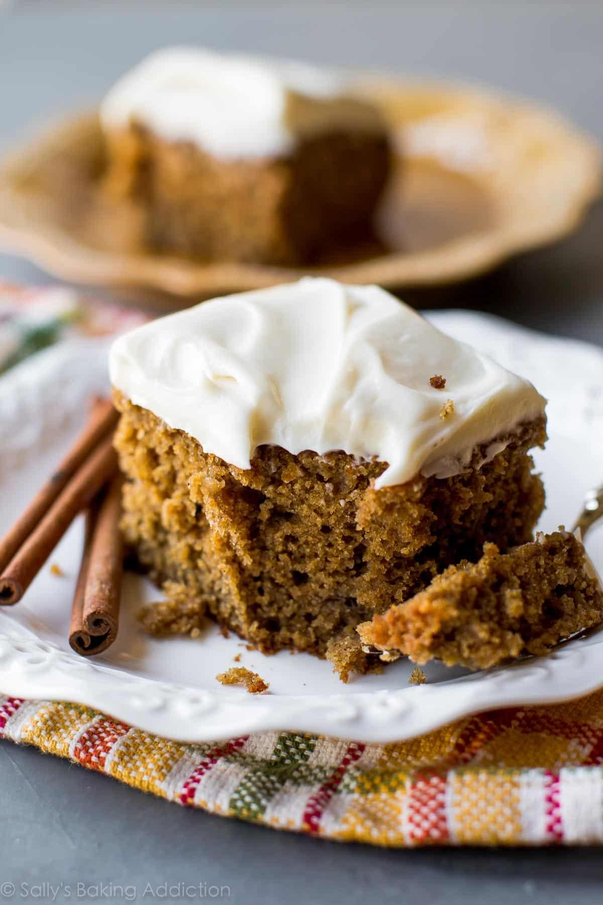 Super Moist Spice Cake Sallys Baking Addiction