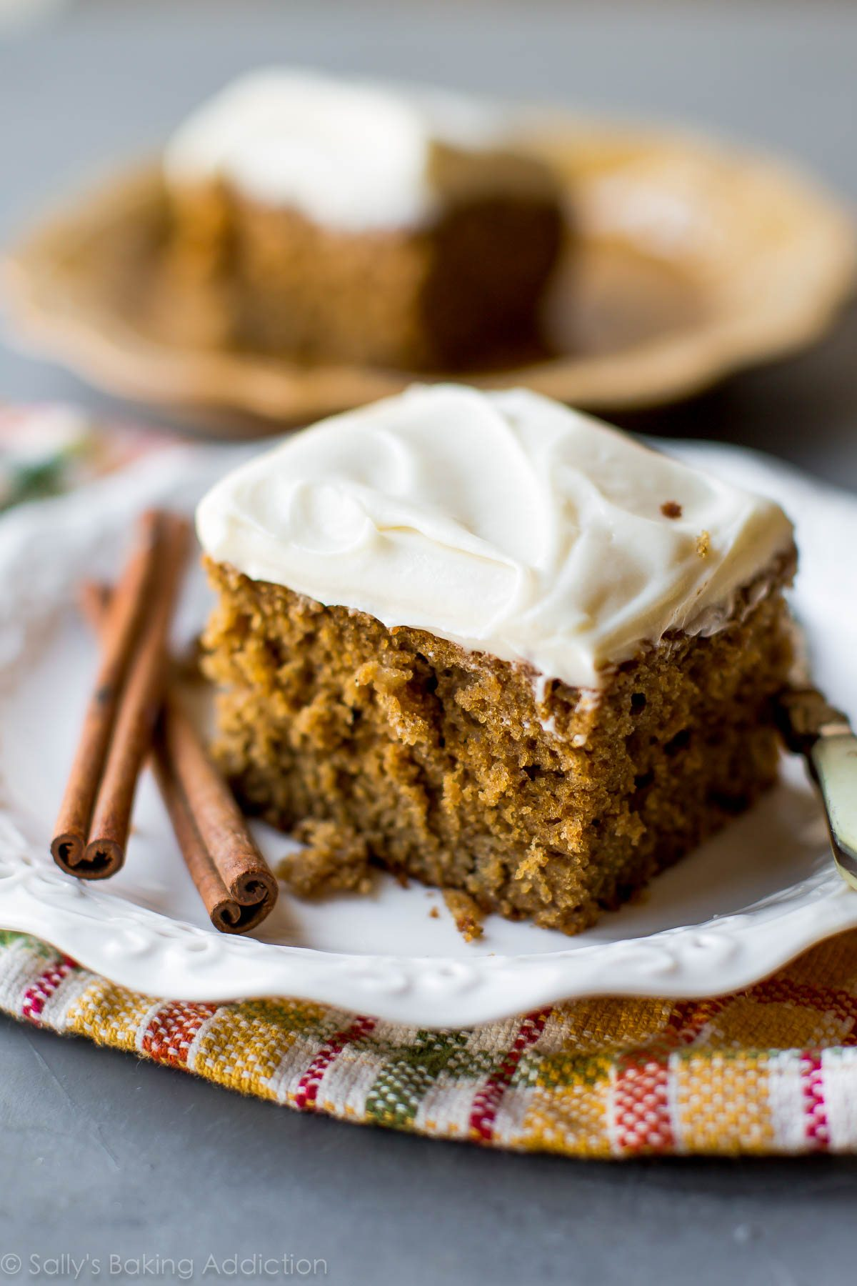 Moist Zucchini Cake With Cream Cheese Frosting