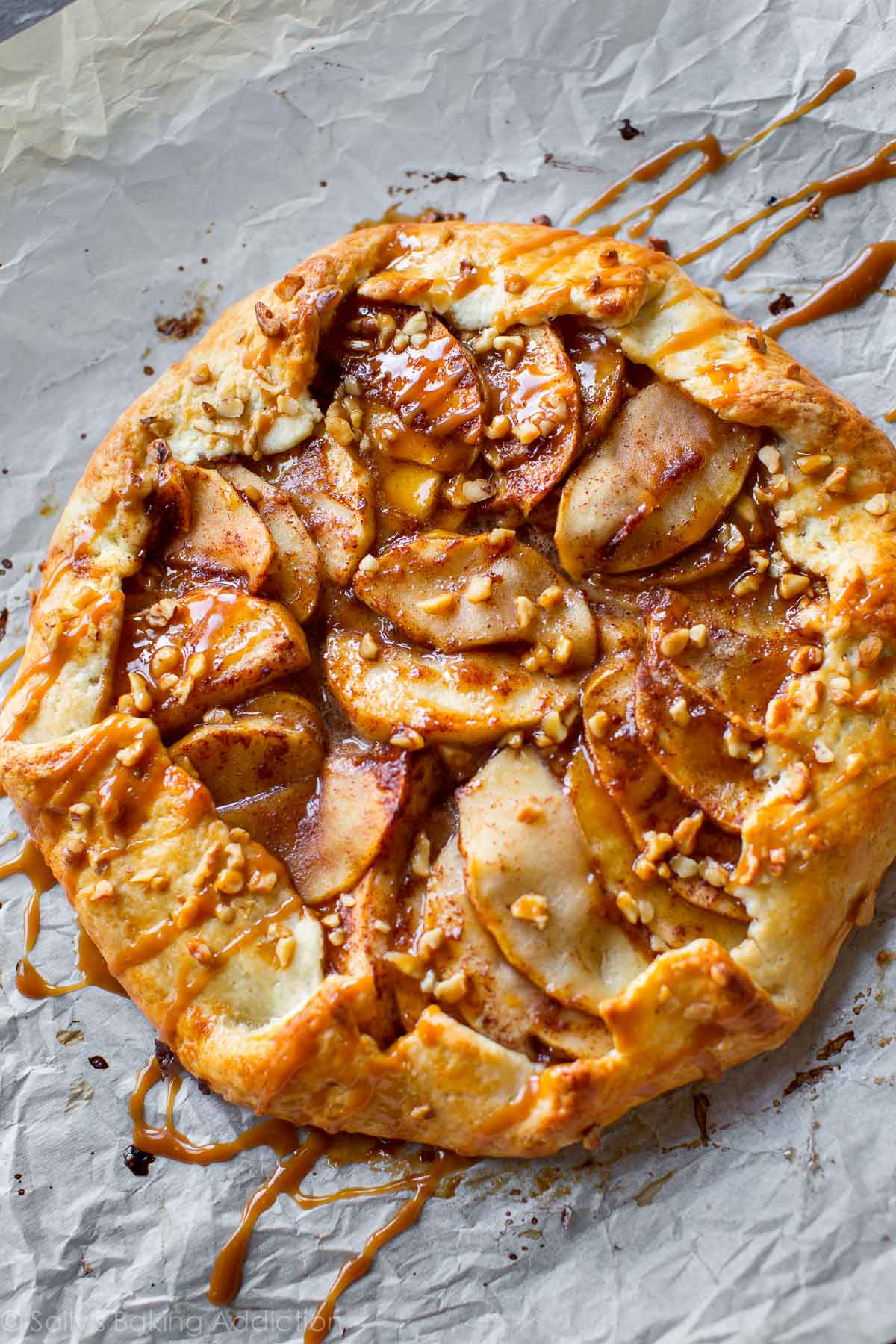 ... apple galette is the easiest Fall dessert. Recipe on