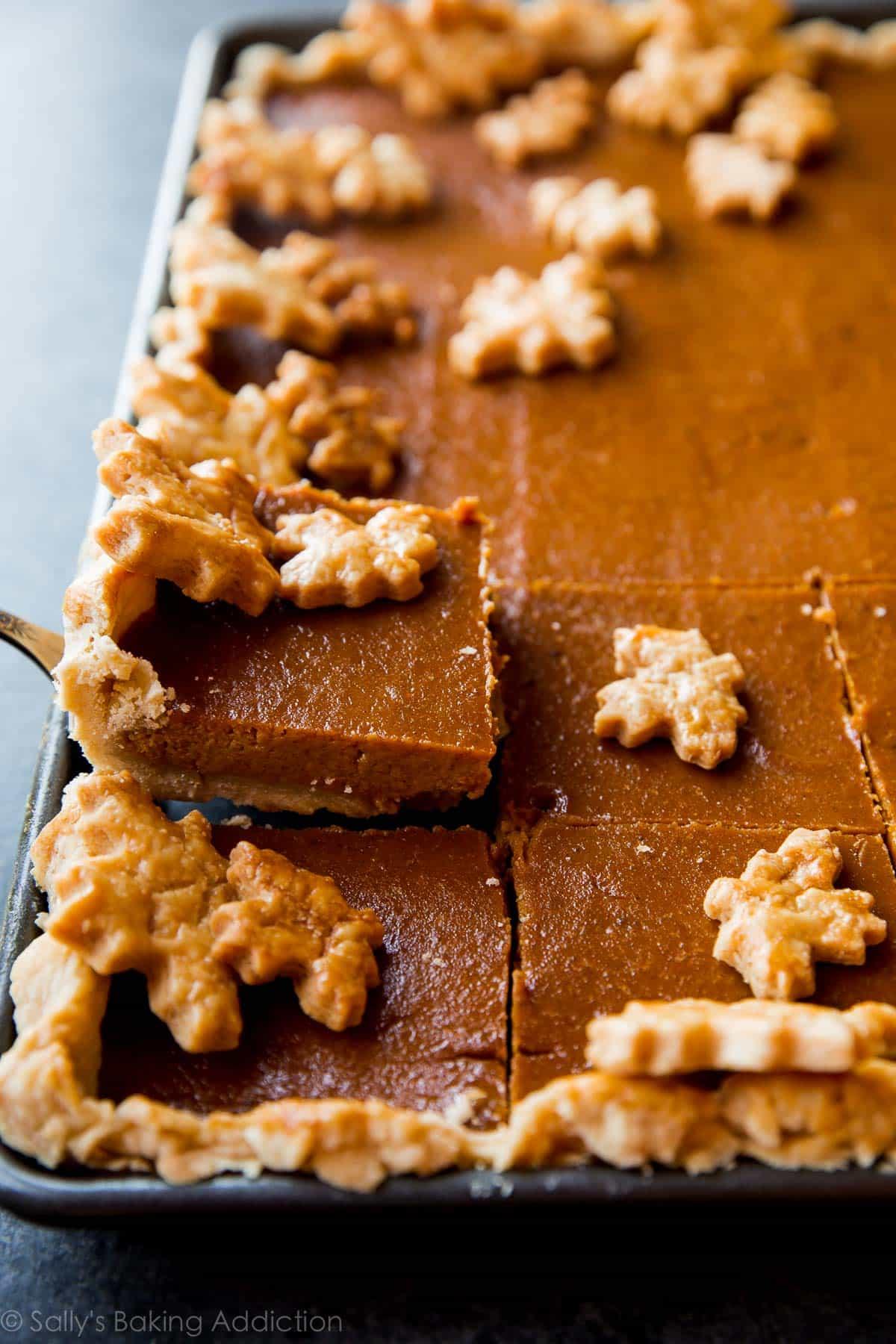 Bake It In A Cake Pumpkin Pie