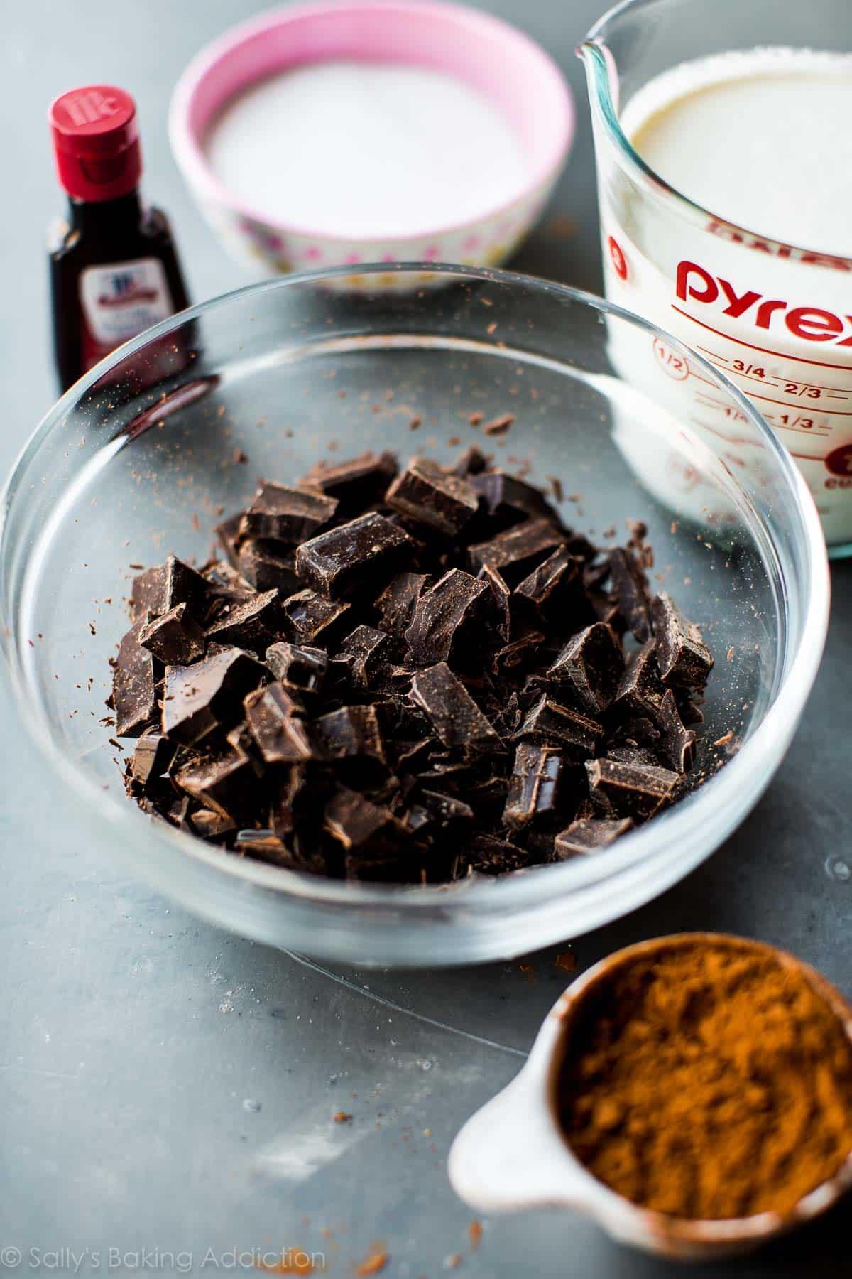 Decadent Slow Cooker Hot Chocolate - Sallys Baking Addiction