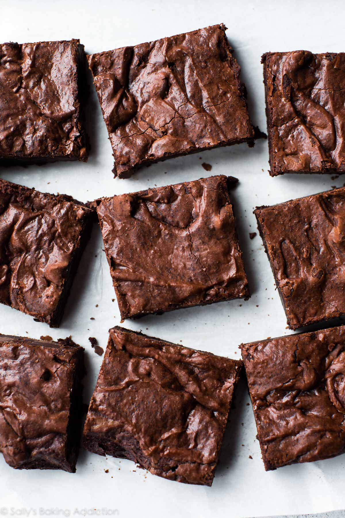 Seriously Fudgy Homemade Brownies - Sallys Baking Addiction