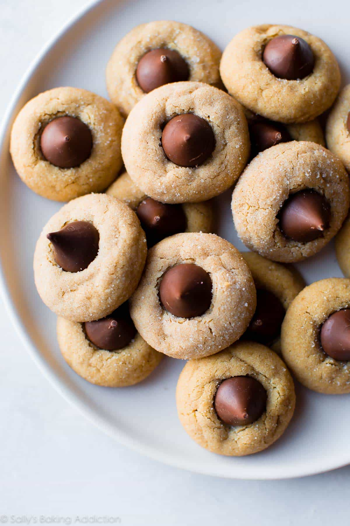 Classic Peanut Butter Blossoms - Sallys Baking Addiction