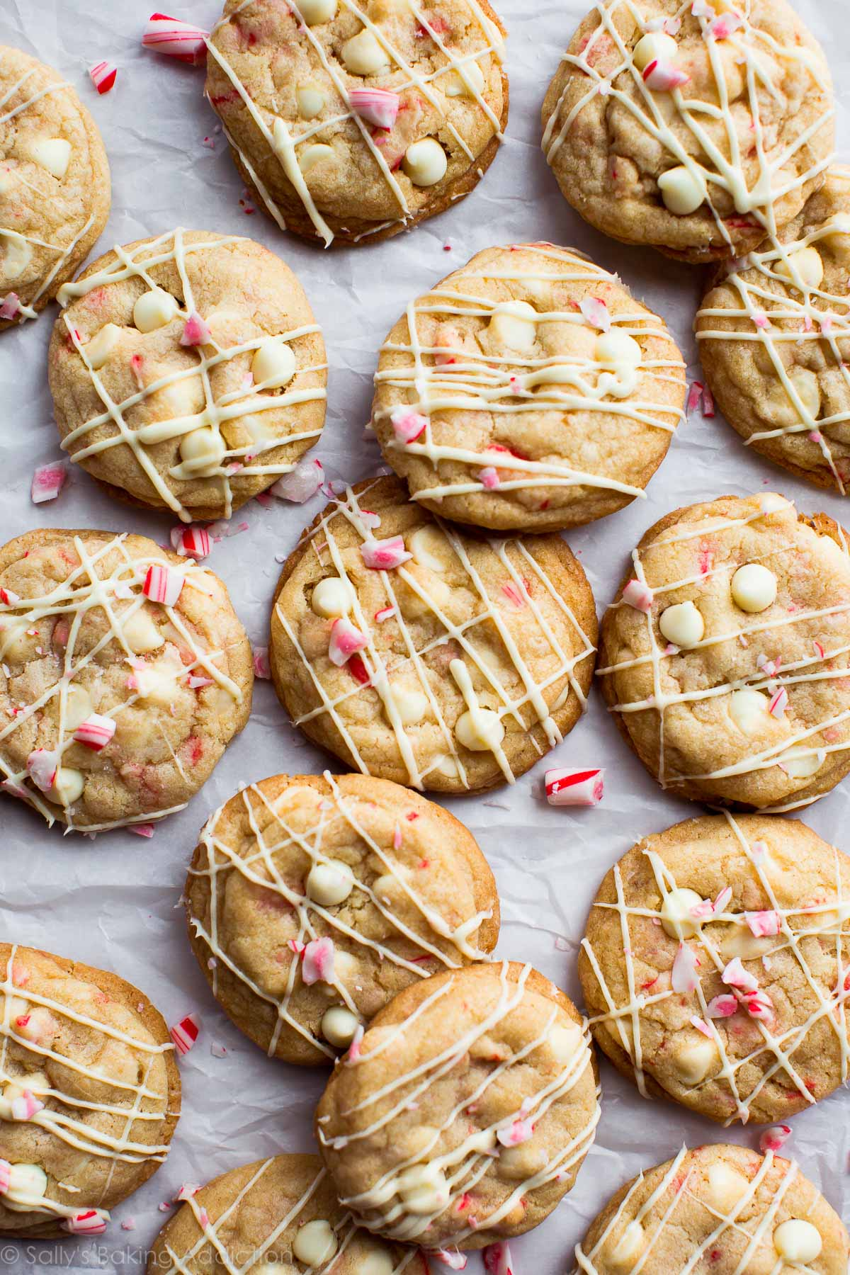 Peppermint White Chocolate Cookies Sallys Baking Addiction