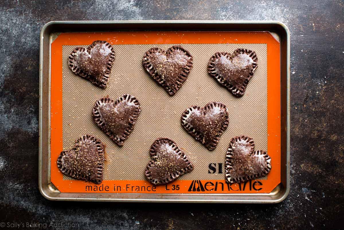 Chocolate hand pies on sallysbakingaddiction.com