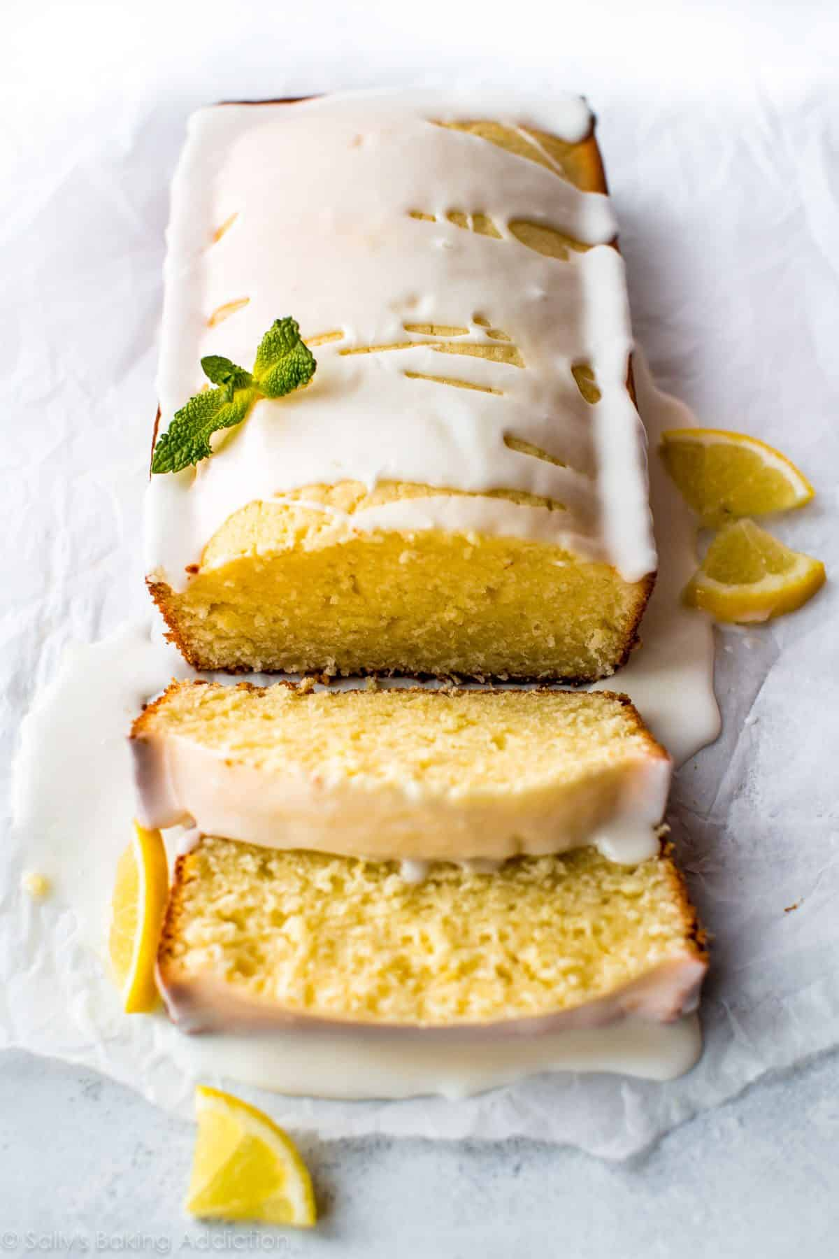 Recipes for lemon cakes with lemon icing
