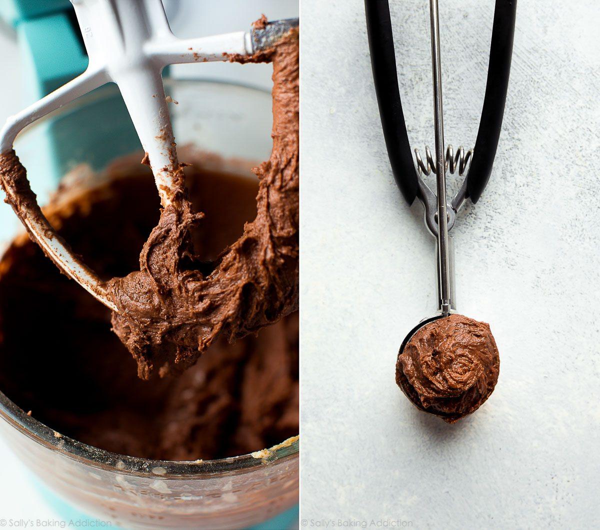 How to make chocolate whoopie pies on sallysbakingaddiction.com