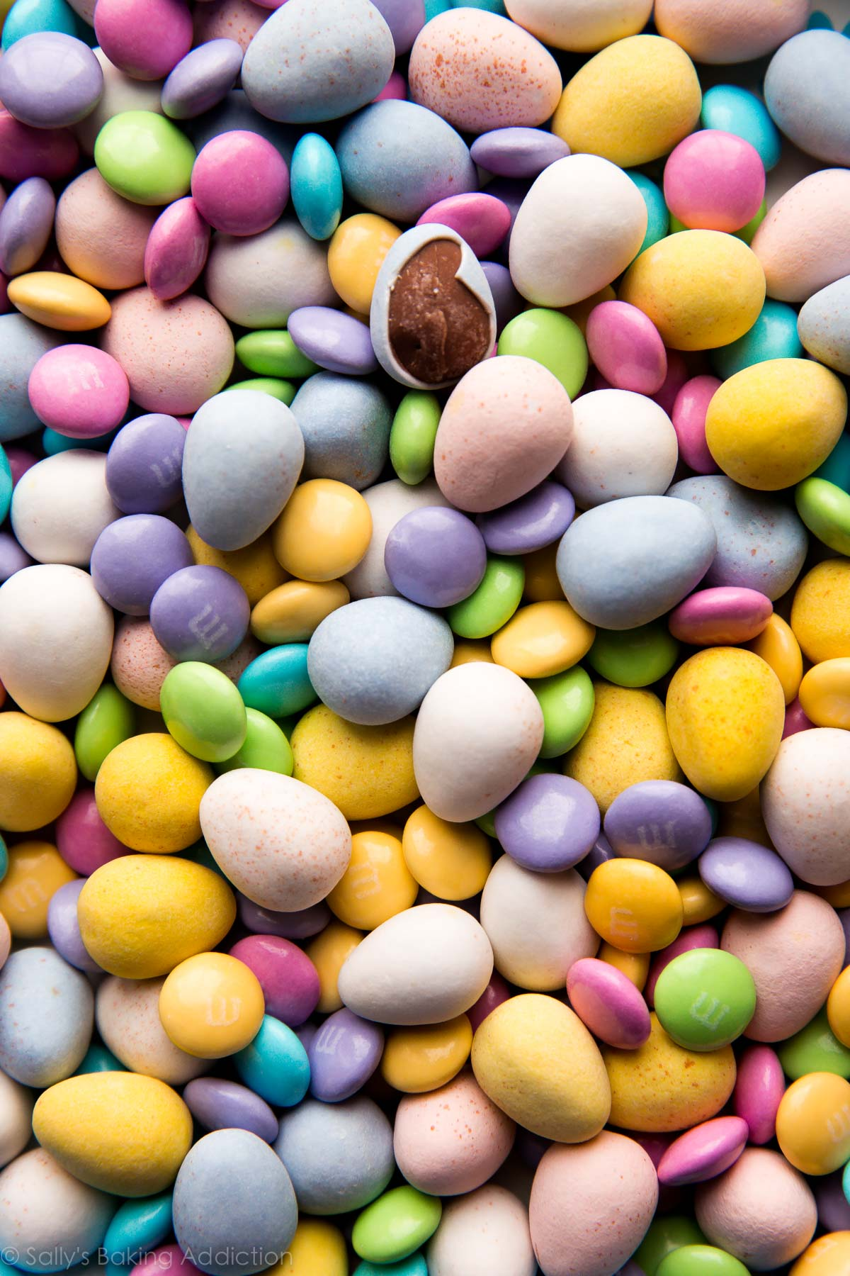 Easter candy for Easter nest cake on sallysbakingaddiction.com