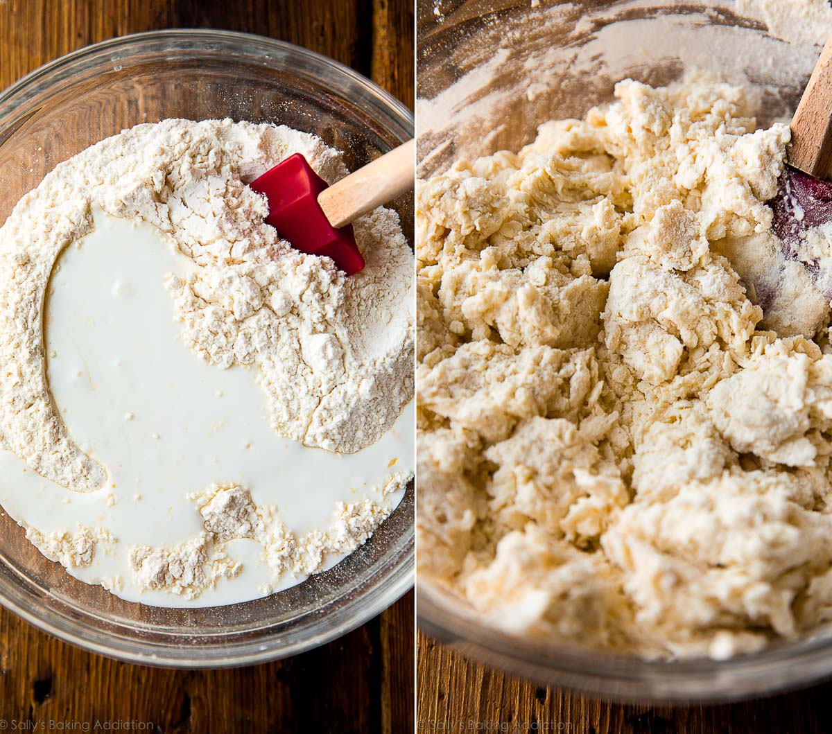 How to make buttery flaky buttermilk biscuits on sallysbakingaddiction.com