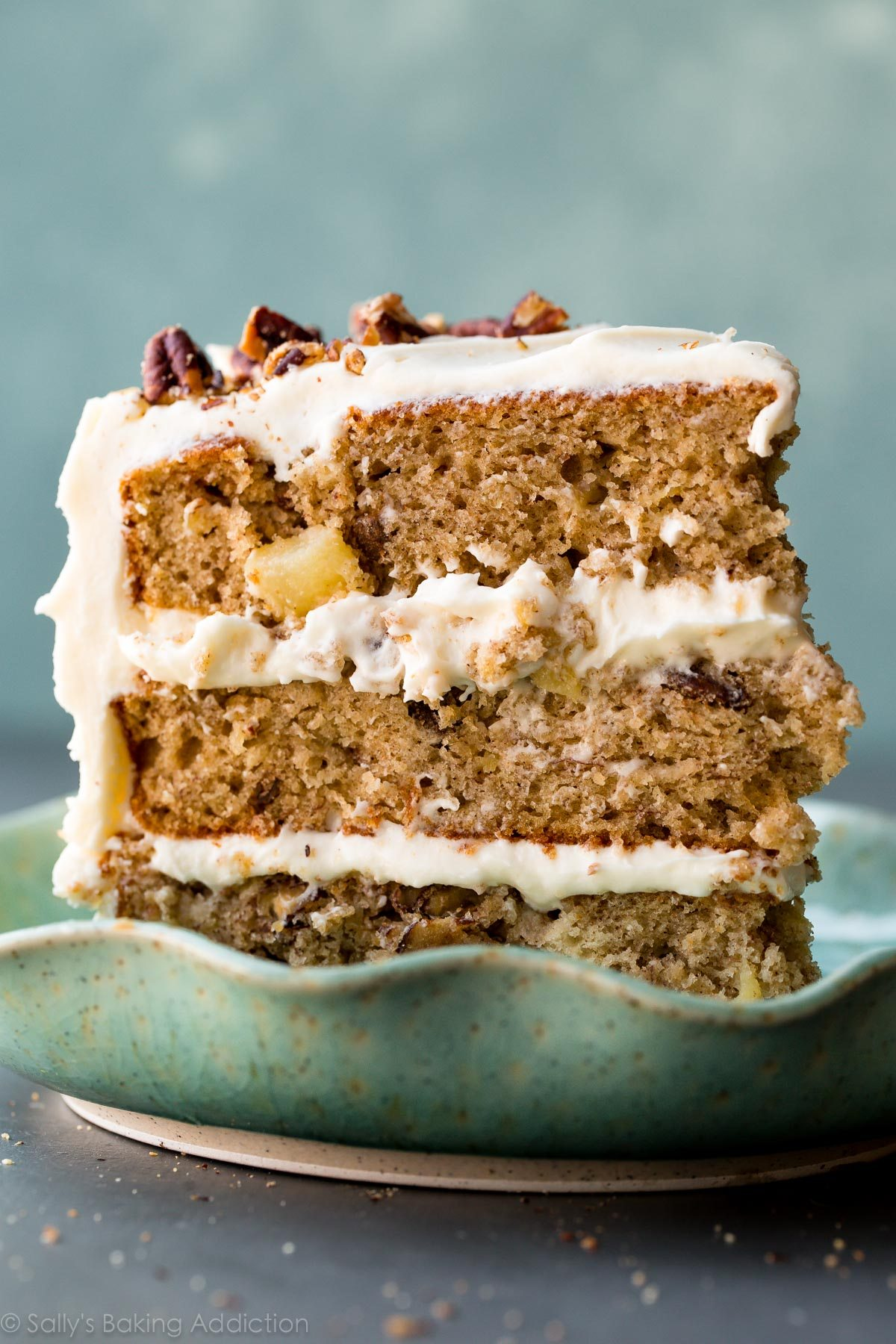 Hummingbird cake on sallysbakingaddiction.com