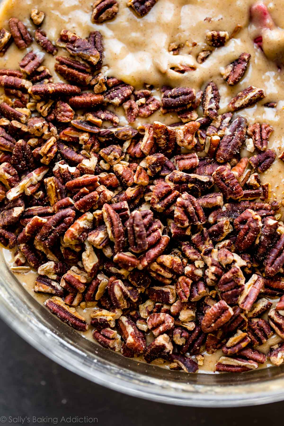 Toasted pecans on sallysbakingaddiction.com