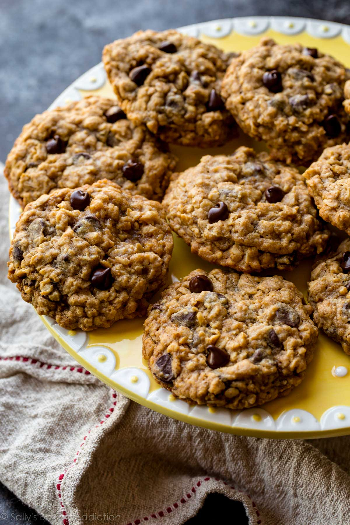 Rolled Oats Chocolate Chip Cookies Recipe
