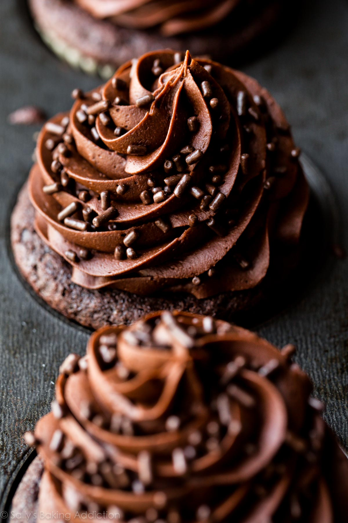 Super Moist Chocolate Cupcakes - Sallys Baking Addiction