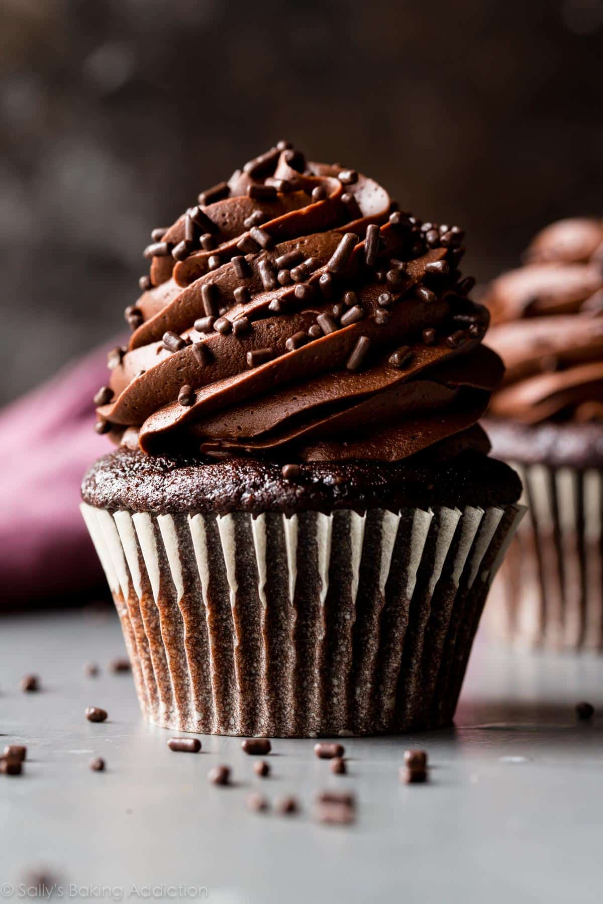 5 star chocolate cupcakes