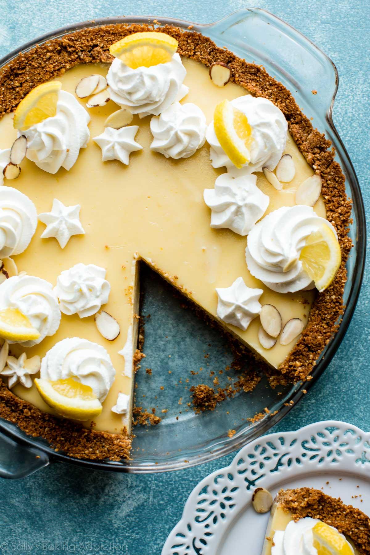 Lemon Pie Filling Cake Frosting